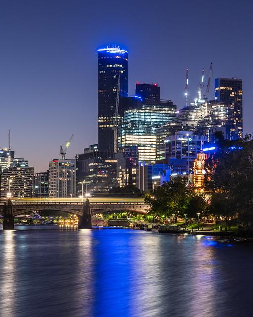 Melbourne   |   CBD Blue