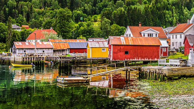 Norway piers
