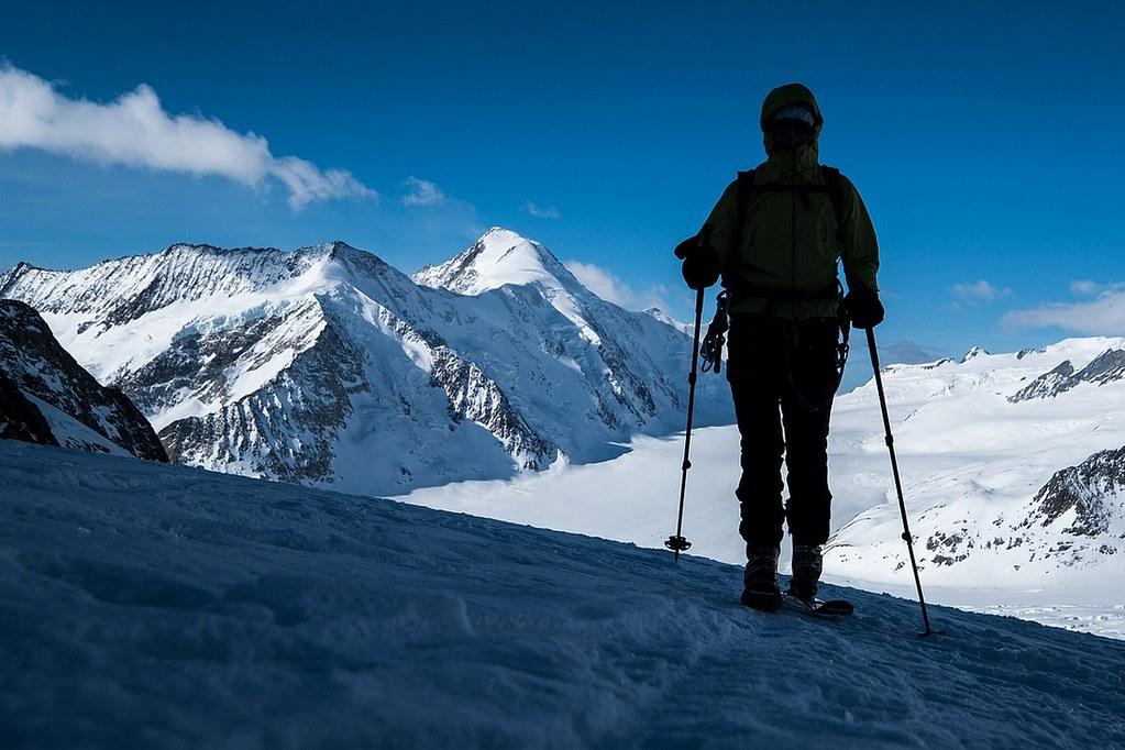 Gross Grünhorn Berner Alpen / Alpes bernoises Schweiz foto 05