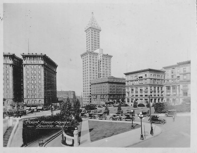 City Hall Park, Seattle, c1924