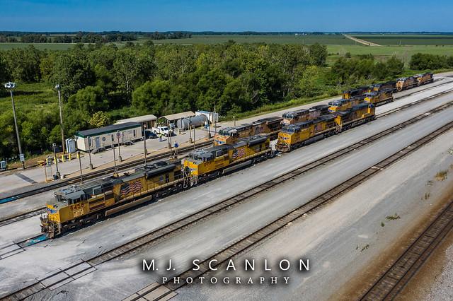 UP 8458 | EMD SD70ACe | UP Marion Intermodal Railport