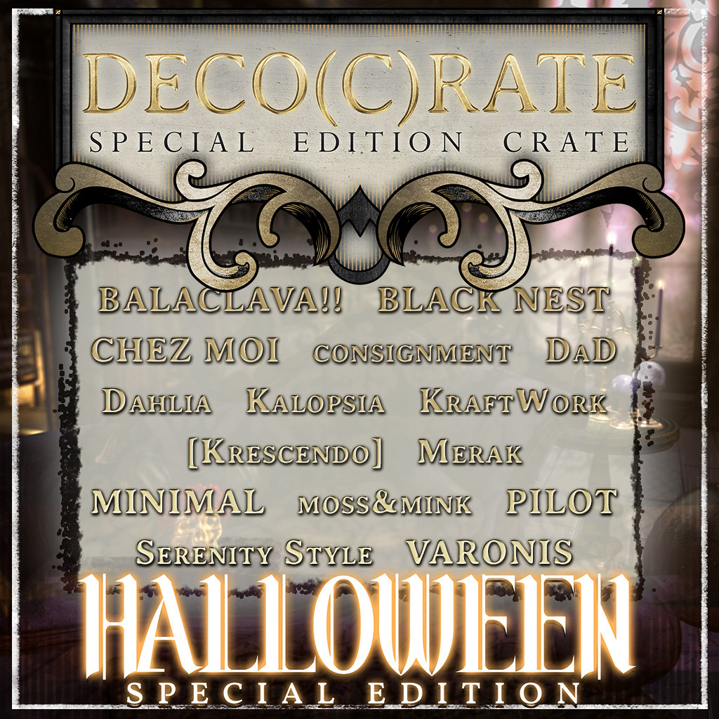 MadPea Halloween Edition of Deco(c)rate