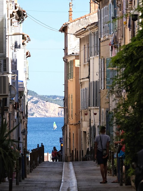 Taking to the City Streets-La Ciotat