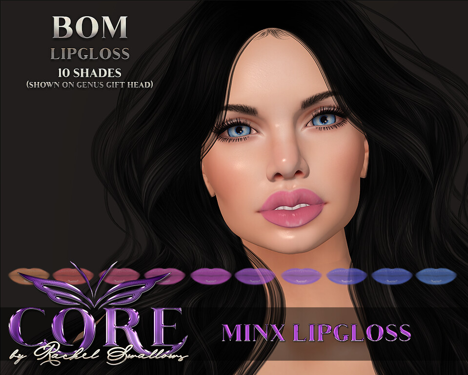 CORE by RACHEL SWALLOWS Minx Lipgloss