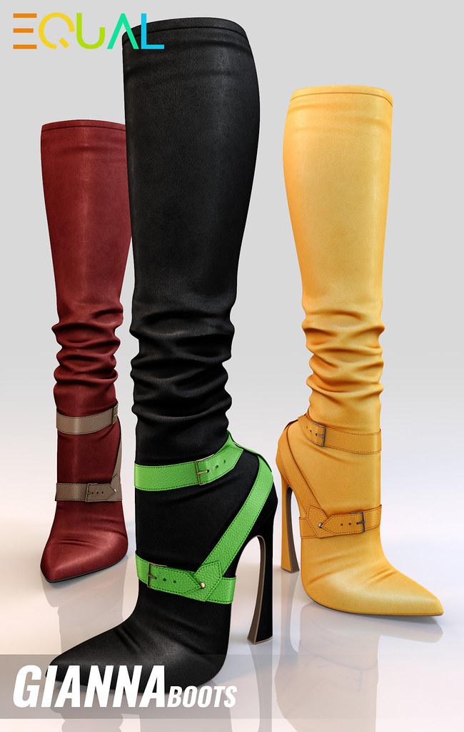 EQUAL - Gianna Boots