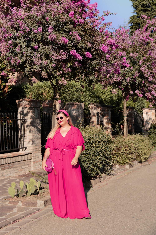 Curvy Color Challenge fuxia come indossarlo (7)