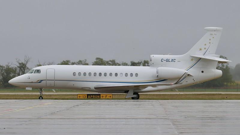 C-GLXC Dassault Falcon 7X Galaxy Airways