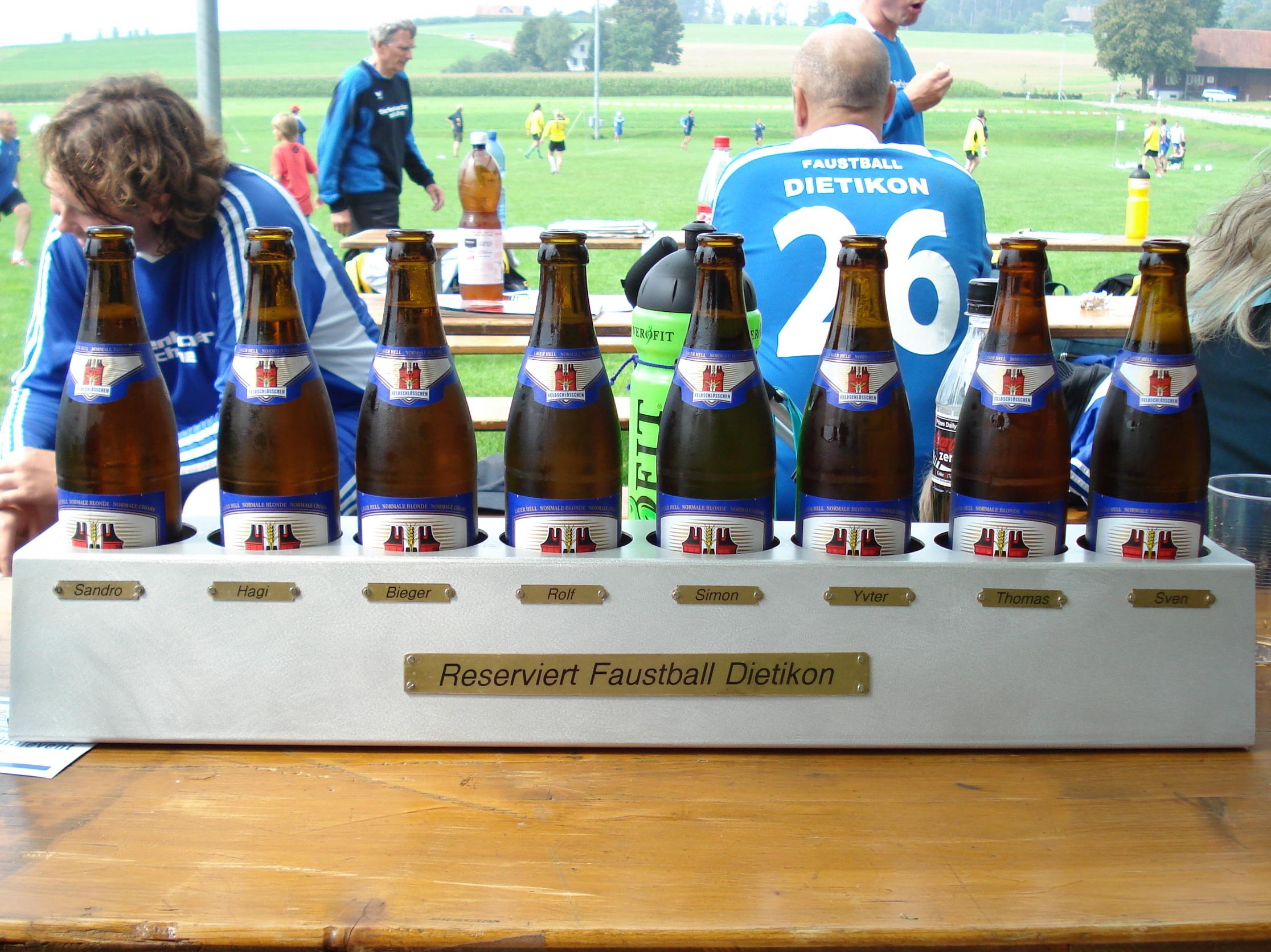31/08/08: Meisterschaft, FB Dietikon 3, 4, 5