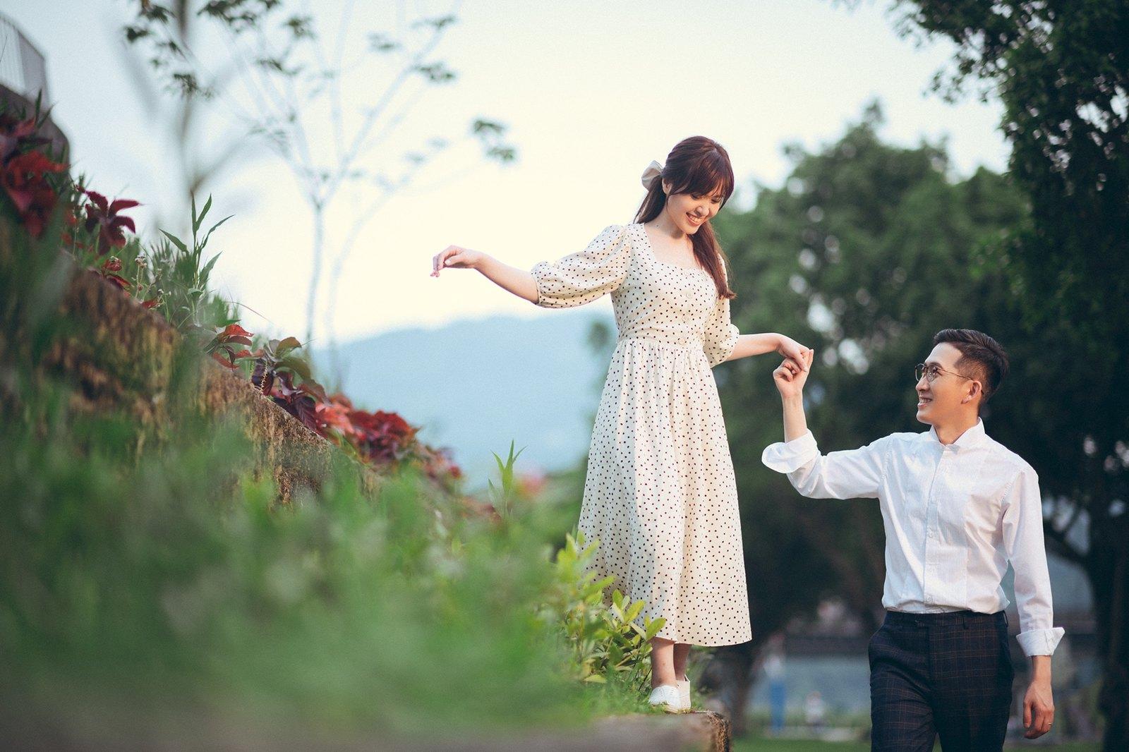 【婚紗】Theo & Angel / 紀州庵 / 化南新村 / 政大河堤 / EASTERN WEDDING studio