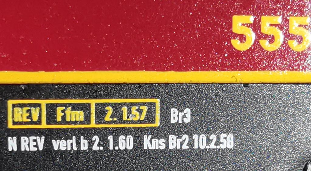 WR4y(e) DSG 555 - REV-Daten