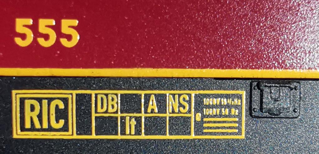 WR4y(e) DSG 555 - RIC-Raster, durchaus glaubwürdig