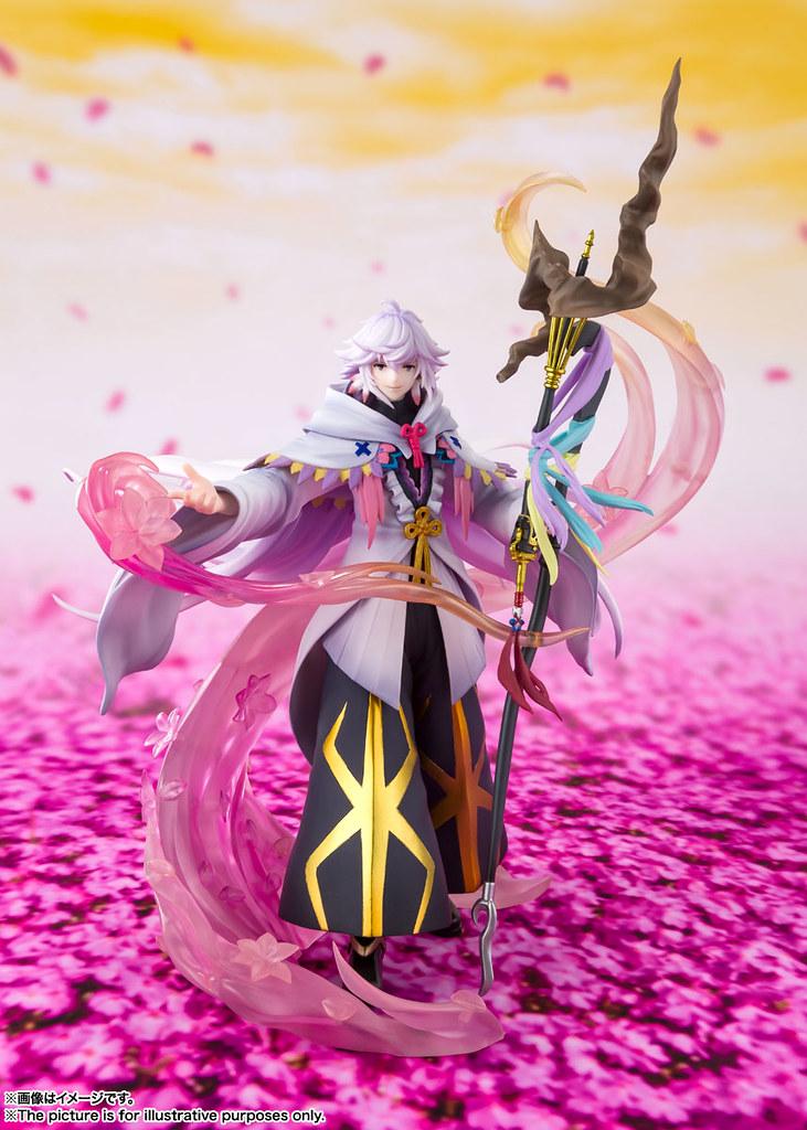 FGO 新模型 Figuarts ZERO「花之魔術師 梅林」明年 01 月推出!