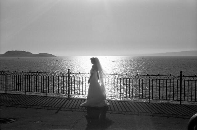 French Bride  (In Explore - Retina IIIC / Fuji Xtra)