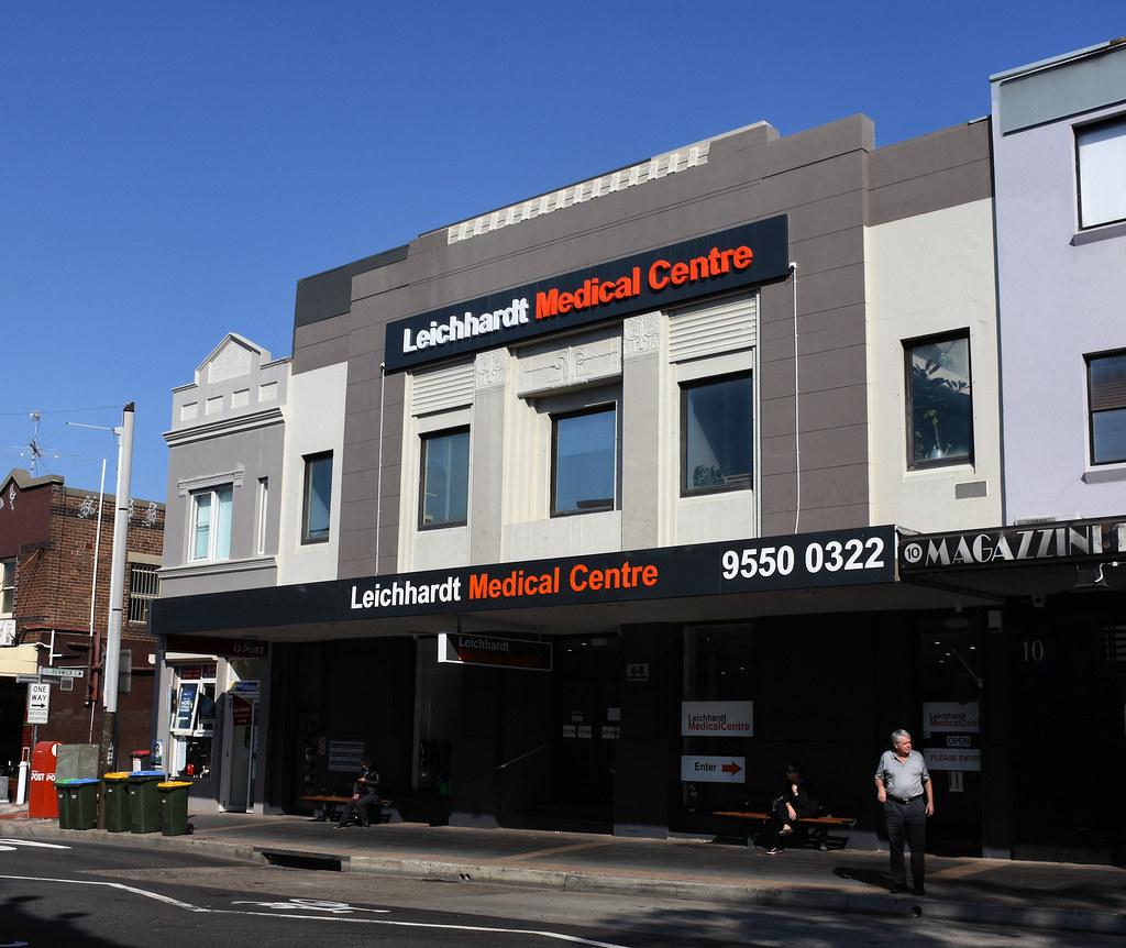 Former Commonwealth Bank, Leichhardt, Sydney, NSW.