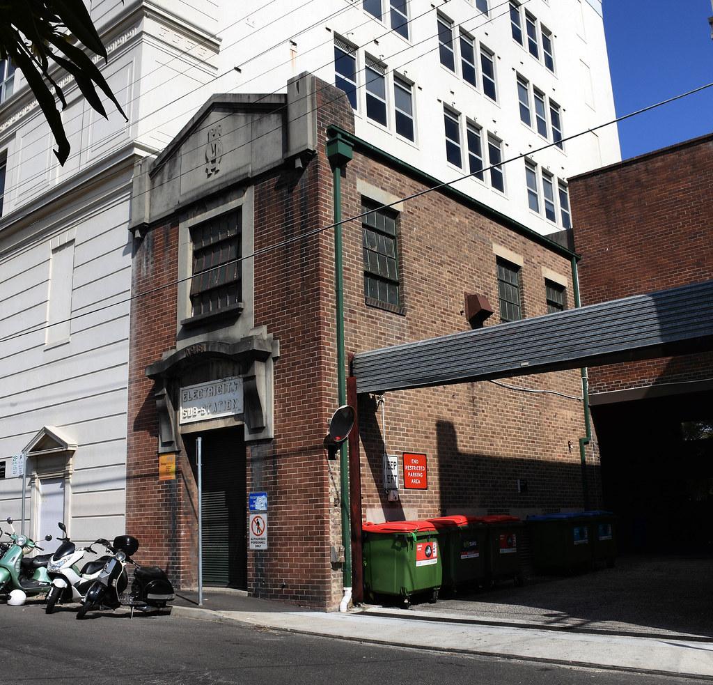 Electricity Substation No 181, Camperdown, Sydney, NSW.