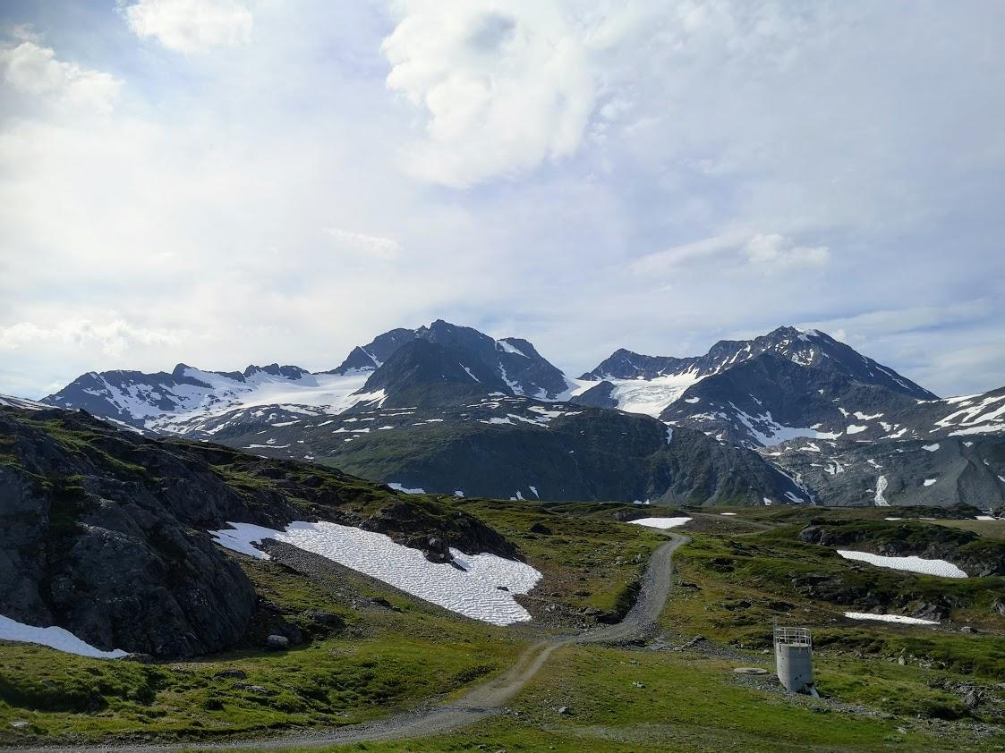 Rottenvikvatnet jäätikköjärvi