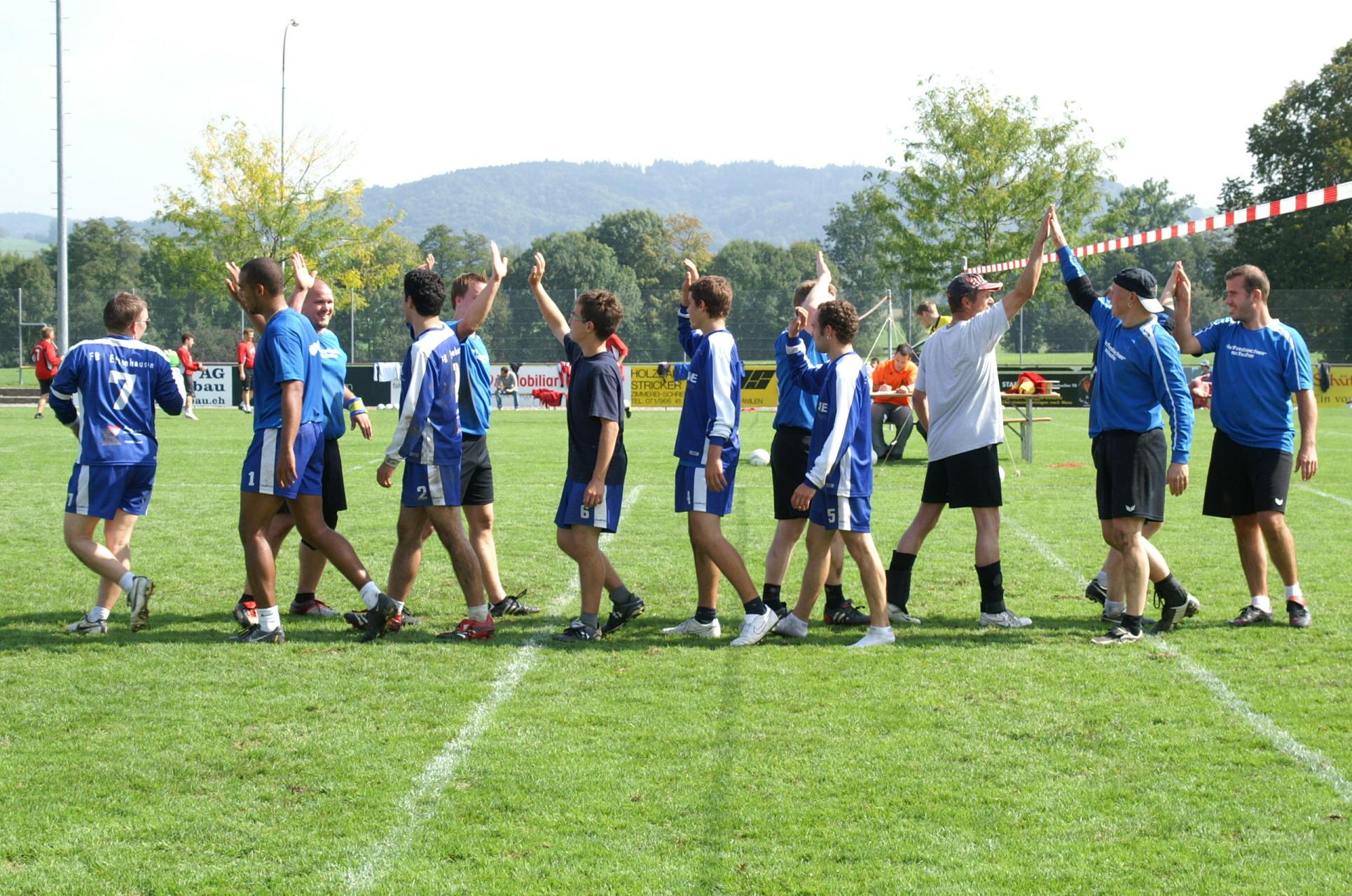 19/09/09: Aufstiegsspiel Nati B, FB Dietikon 1