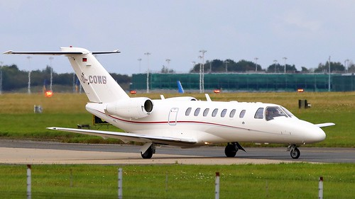 D-COWB Cessna 525B CitationJet CJ3 Stansted 30-08-2020 6098 | by sickbag_andy