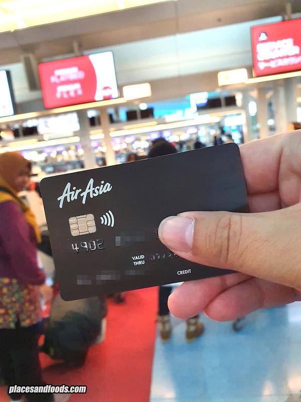 airasia hlb platinum card