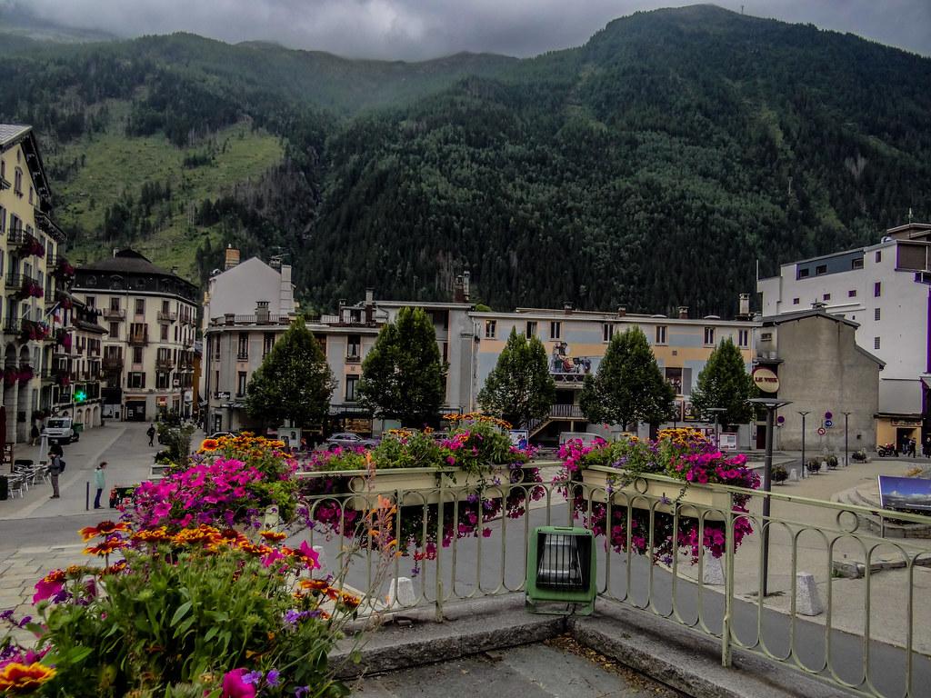 At Chamonix-Mont-Blanc. France.