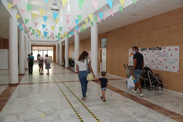 Comienza el curso escolar en guarderías municipales palaciegas