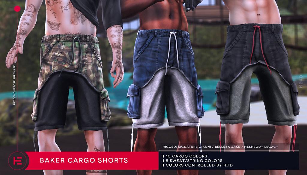 HEVO – Baker Cargo Shorts