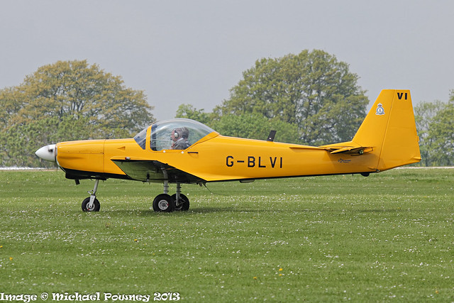 G-BLVI - 1986 build Slingsby T.67M Firefly, at Sywell during AeroExpo 2013