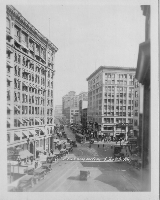 4th and Pike, Seattle, c1924