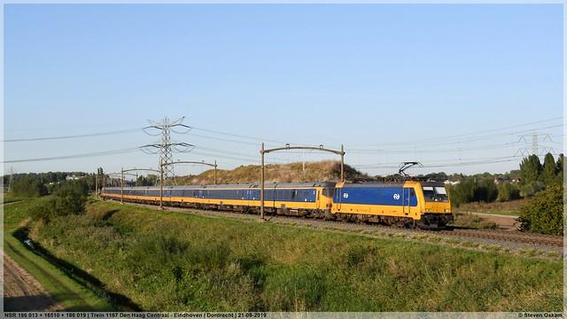 NSR 186 013 + 16510 + 186 019   Dordrecht   21-09-2019