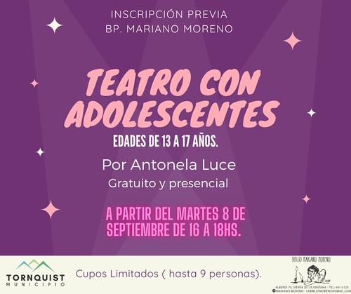 Teatro con adolescentes