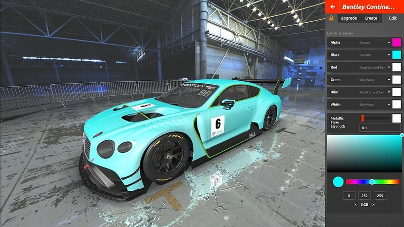 rFactor 2 Bentley Continental GT3
