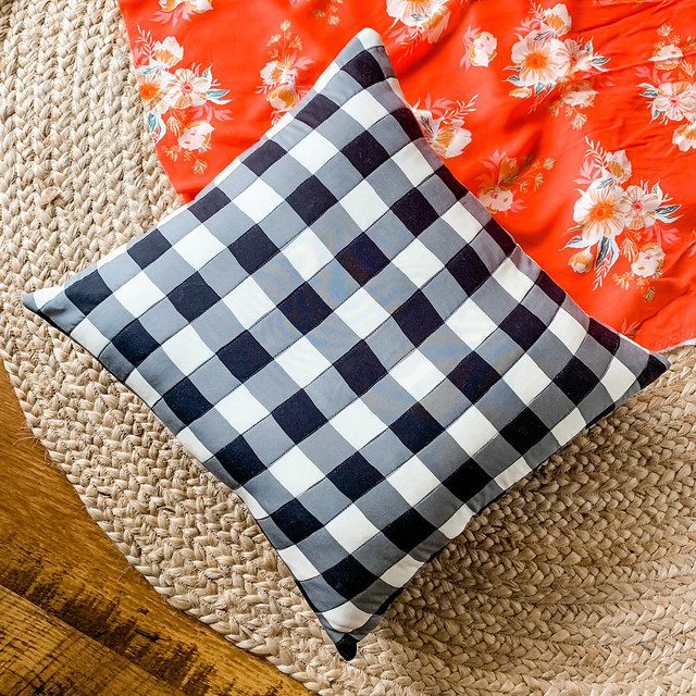 Quilted Rayon Pillow