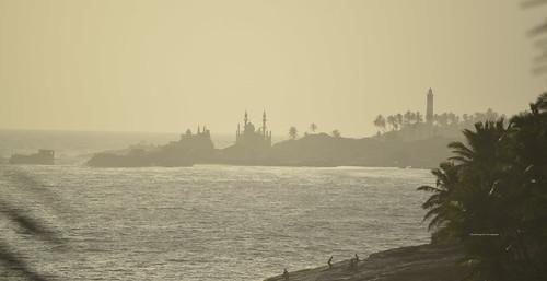 beach mosque lighthouse gods godsowncountry resort sea sunset goldenhour nikonindia kovalam vizhinjam pastel shutterbug iyer shutterbugiyer