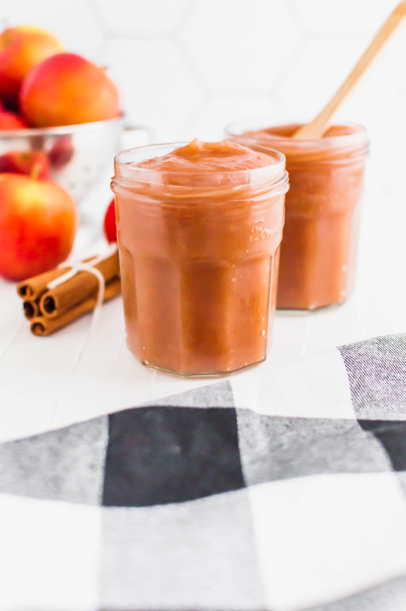 It's apple season! Grab some fresh apples to make your own Instant Pot Applesauce. Simple to make and you can control the ingredients and sweetness. Super fresh and delicious.