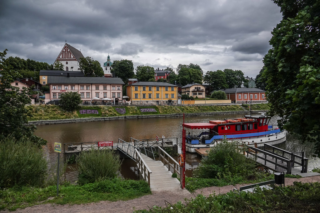 Porvoo view over the river