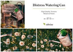 Noveny - Distress Watering Can
