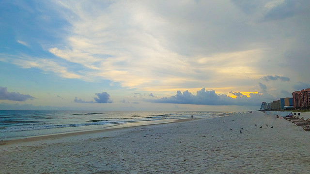 Gulf Coast Sunset - Orange Beach, Alabama