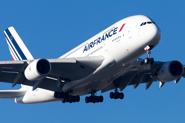 CDG - Airbus A380-861 (F-HPJI) Air France