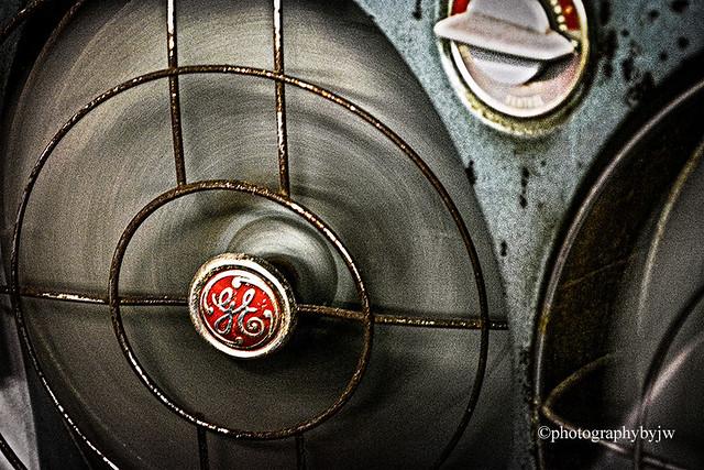 Vintage GE Dual Box fan