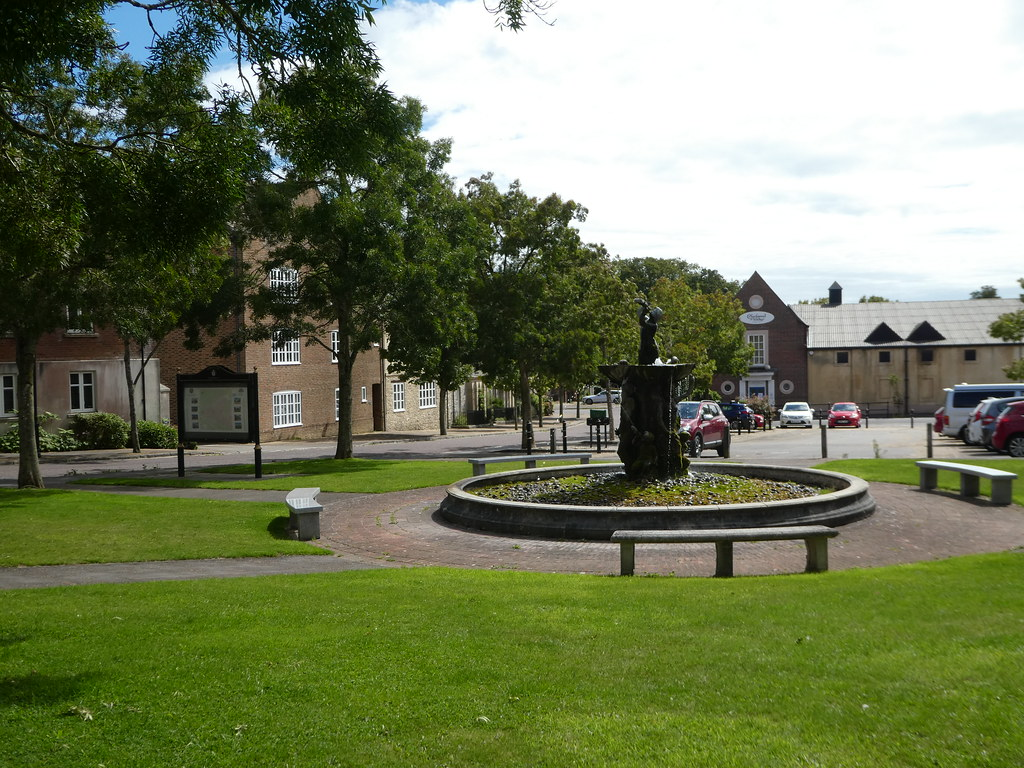 Village Green, Poundbury