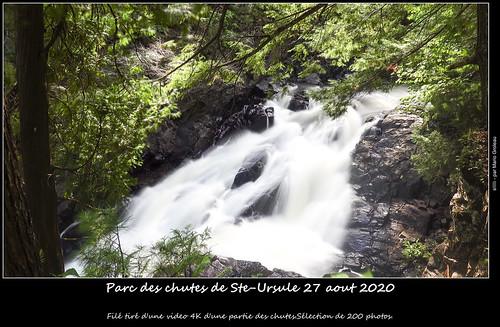 Parc des chutes de Ste-Ursule 27 aout 2020