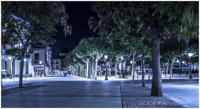 Alcalá de Henares, nadie por sus calles, es la época que nos toca vivir
