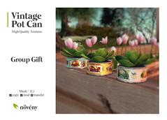 Noveny - Vintage Pot Can - Group Gift