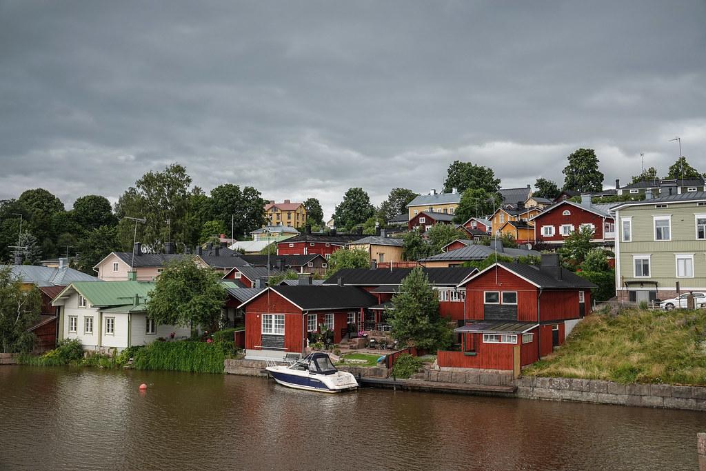 Porvoo river side houses