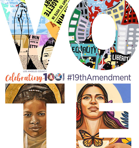 Artworks Celebrating the Centennial of the 19th Amendment