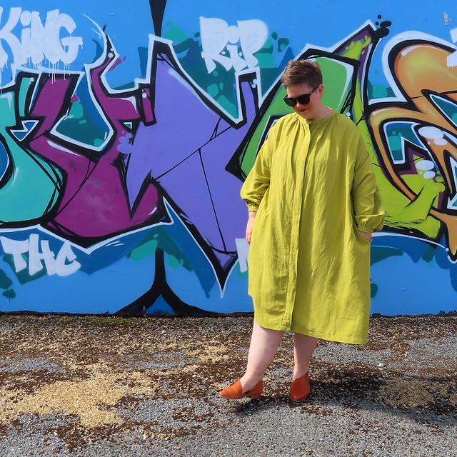 Huon front dress 2