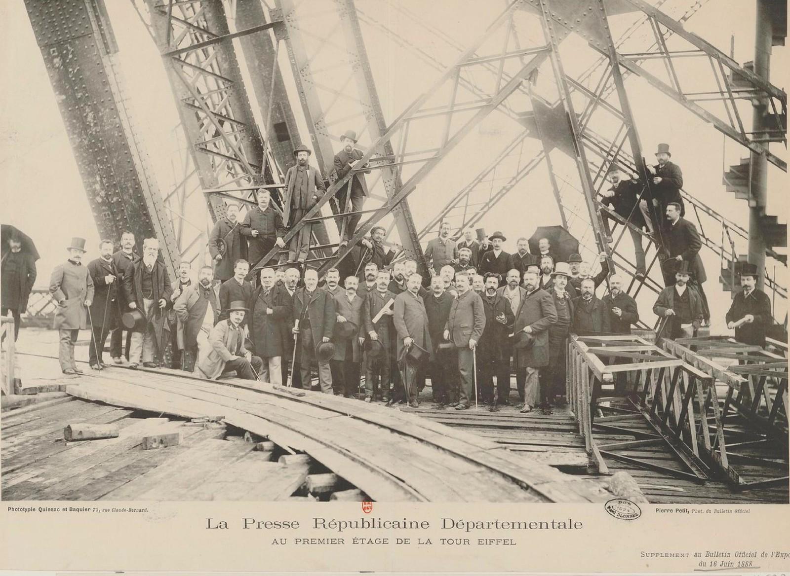 10. 1888. 16 июня. Пресса на башне