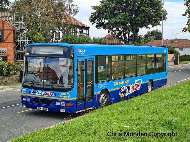 Rider York Park and Ride N414 ENW ( 8414 )