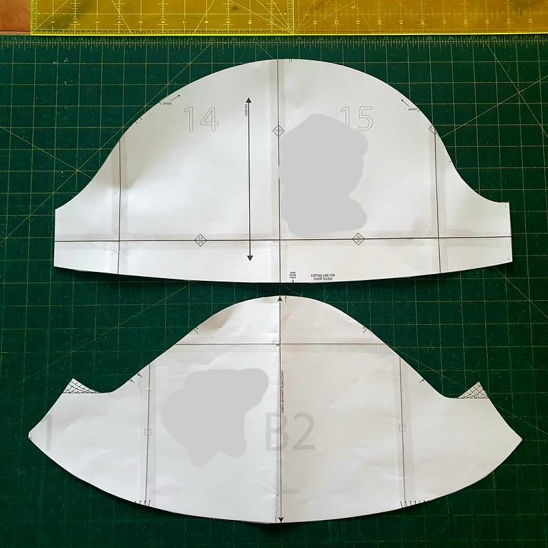 Pattern shape comparisons