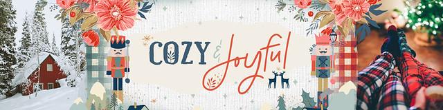 Cozy & Joyful Banner
